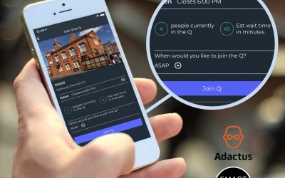 Adactus on TalkRadio launching SmartQ, the first universal UK app for smarter and safer queuing